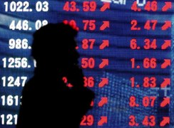 World shares rise on recovery hopes, following stellar November