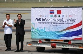 Thailand receives its first coronavirus vaccines