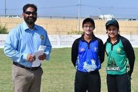 PCB Strikers on edge after losing 7 wickets in 43 overs against PCB Blasters