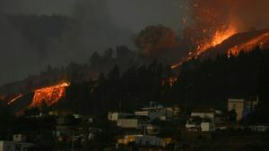 Lava engulfs 100 homes as Canary Islands volcano erupts