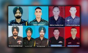 مقبوضہ کشمیر میں جھڑپیں، 9 بھارتی فوجی ہلاک