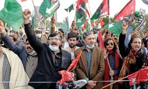 پی ڈی ایم کا اکتیس اکتوبر کو اسلام آباد میں مظاہرے کا فیصلہ
