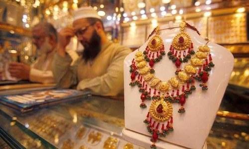 سونے کی فی تولہ قیمت ایک لاکھ 5 ہزار روپے سے بھی متجاوز
