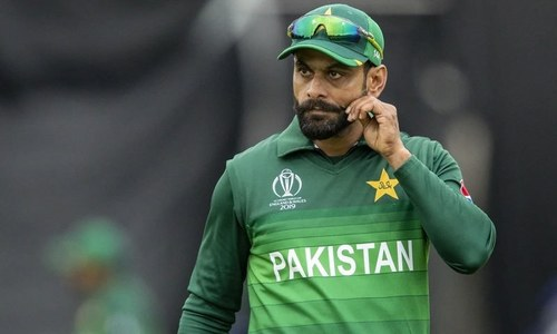 Hafeez tests negative for COVID-19