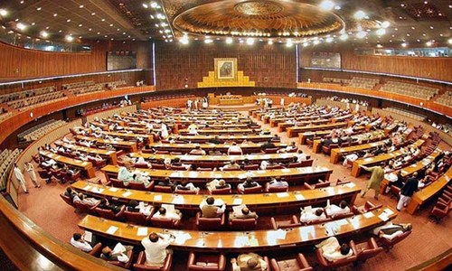 قومی اسمبلی اجلاس میں 190مطالبات زر کی منظوری کا عمل جاری