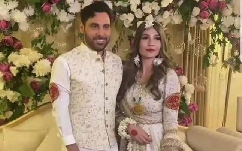 Singer Haroon Rashid gets hitched in an intimate ceremony