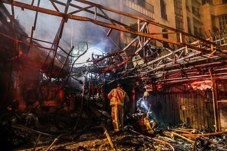 ایران کےدارالحکومت تہران میں دھماکا،جاں بحق افرادکی تعداد19ہوگئی