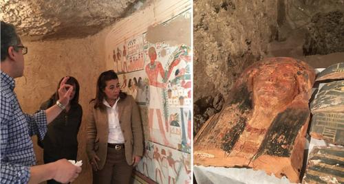 تین ہزار سال پرانی جج کی قبر دریافت