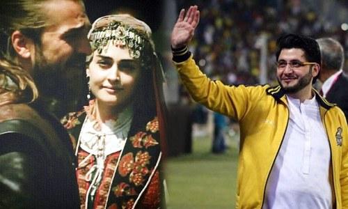 ارطغرل کے بعد حلیمہ سلطان بھی پشاور زلمی کی برانڈ ایمبیسیڈر؟