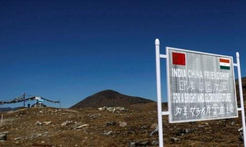 China, India hold talks on border standoff