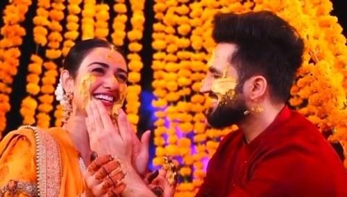 Sarah Khan and Falak Shabbir announce engagement, kick off the wedding festivities