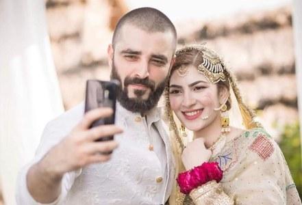 Hamza Ali Abbasi and Naimal Khawar welcome their first child