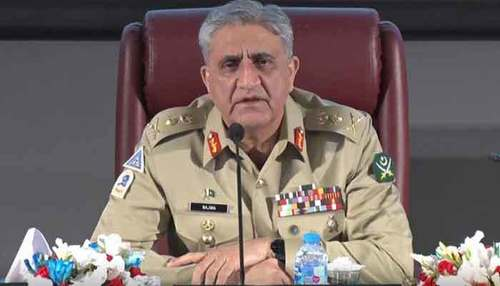 COAS Gen Bajwa meets serving, retired military officers in Lahore