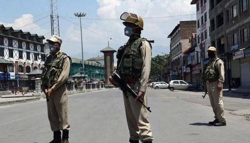 بھارتی حکومت کو مظاہروں کا ڈر، سری نگر میں کرفیو نافذ،فوج تعینات