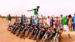 Twitter laud man in the viral video who jumps 11 motorcycles