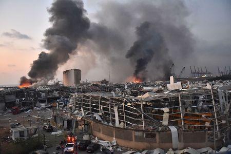 بیروت دھماکے: 100سے زائدجاں بحق، 4000 سے زائد زخمی