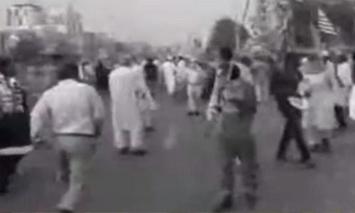 Several injured in grenade attack in Karachi at Kashmir rally