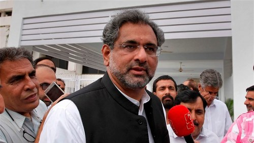 Shahid Khaqan Abbasi demands disbanding of NAB