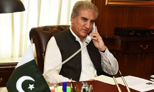 FM Qureshi apprises Mike Pompeo of India's regressive policies in Kashmir