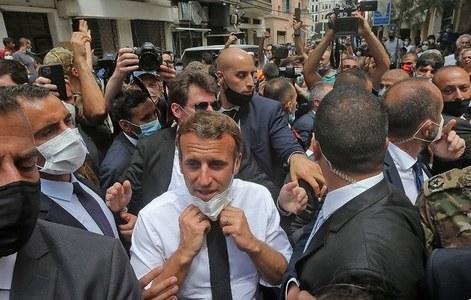 فرانس لبنان کی مدد کر رہا ہے یا دوبارہ فتح کرنے کی کوشش؟