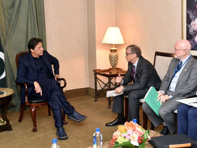 Bill Gates acknowledges Pakistan's coronavirus recovery