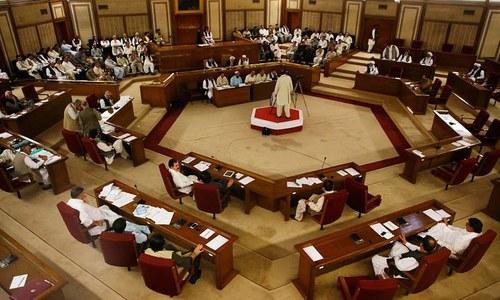 بلوچستان اسمبلی کا اجلاس، سی پیک معاہدہ پیش کرنے کا مطالبہ
