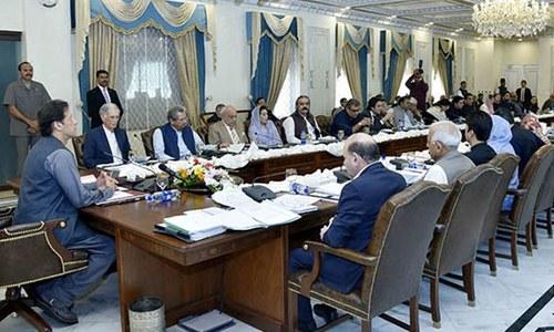 وزیراعظم اوروفاقی کابینہ کو ملکی معاشی معاملات پرتفصیلی بریفنگ