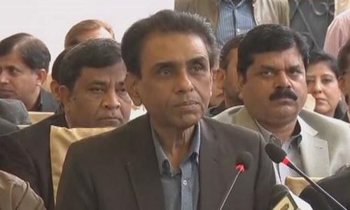 خالد مقبول صدیقی کی زیر صدات متحدہ پاکستان کا اہم اجلاس