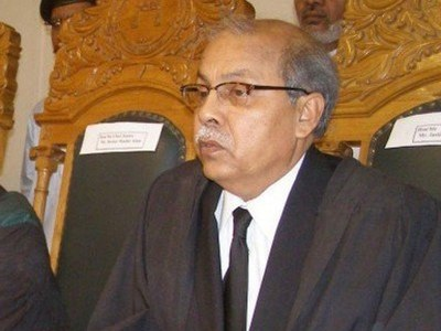 Power of half of the city was suspended after court orders: CJP