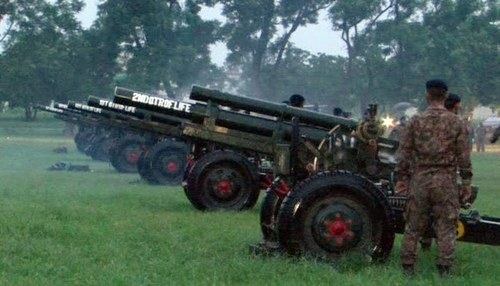 Independence Day dawns with 31-gun salute in Islamabad
