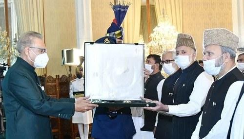 بزرگ کشمیری رہنما علی گیلانی کیلئے نشان پاکستان ایوارڈ