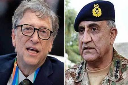 COAS, Bill Gates discuss Pakistan's Covid-19 response, resumption of Polio campaigns