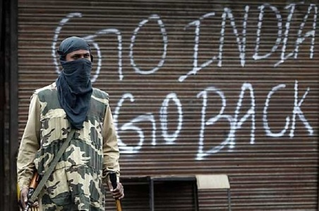 Kashmiris observe Indian Independence Day as Black Day