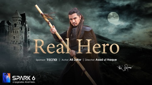 TECNO appointed the REAL HERO, Ali Zafar, as the ambassador of Spark 6