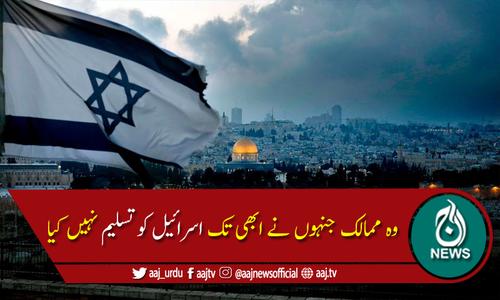 وہ ممالک جنہوں نے ابھی تک اسرائیل کو تسلیم نہیں کیا