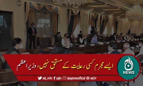 وفاقی کابینہ نے جنسی درندوں کو سخت سزائیں دینے کا مطالبہ کردیا