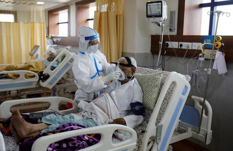 Indian hospitals desperate for oxygen as coronavirus cases top 5 million