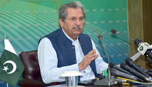 Shafqat denies any change in plan over the phase-wise reopening of the schools