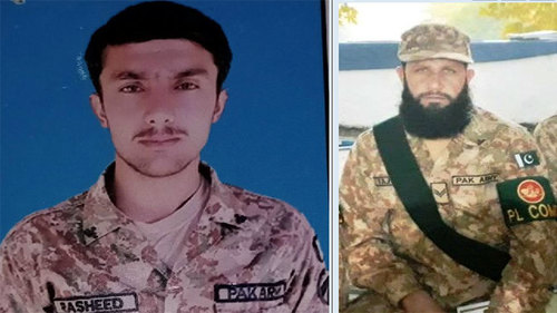 Two soldiers martyred during exchange of fire with terrorists in Miranshah