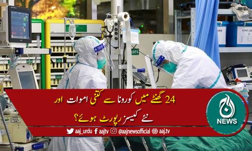 پاکستان میں کوروناکیسز کی تعداد 306,304ہوگئی، 6,420افراد جاں بحق