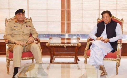COAS calls on PM Iran Khan, discusses national security situation