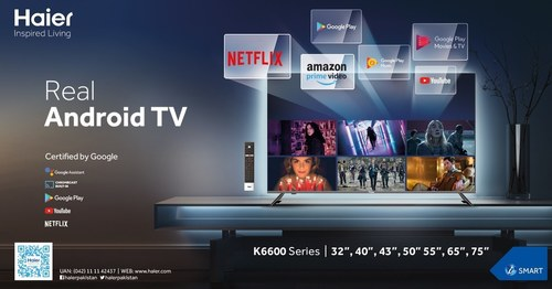 Haier introduces new series of LED TVs with Google certification to provide Ultra HD content