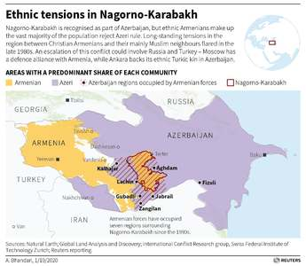 New clashes in Nagorno-Karabakh; Pompeo says Turkey makes situation worse