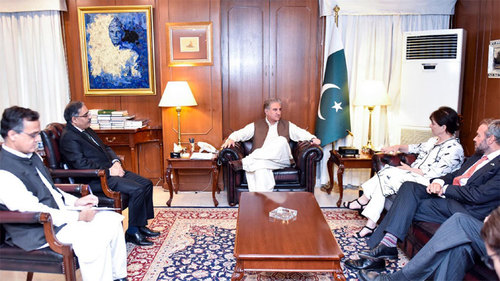 Pakistan will continue its sincere efforts for peace in Afghanistan: FM Qureshi