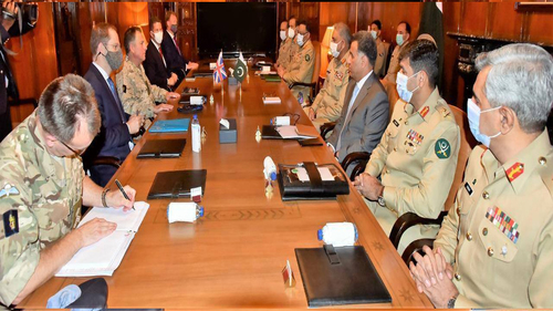 COAS, British Defence Chief discuss matters of mutual interests