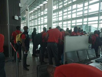 Zimbabwe cricket team arrive in Pakistan
