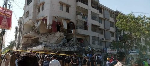 Explosion in Karachi building leaves Five dead, 15 injured