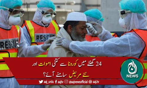 پاکستان میں کورونا وائرس سے متاثرہ افراد کی تعداد 325,480 ہوگئی
