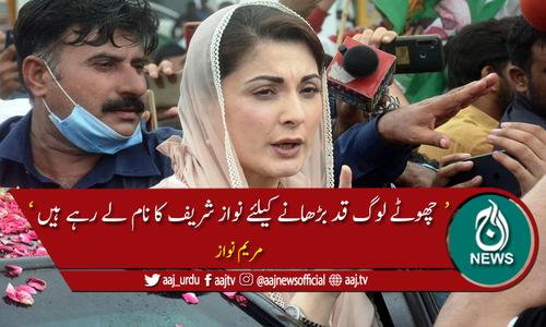 این آر او کی ضرورت اب عمران خان کو ہے، مریم نواز