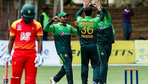 PCB releases broadcast details for Pakistan v Zimbabwe series